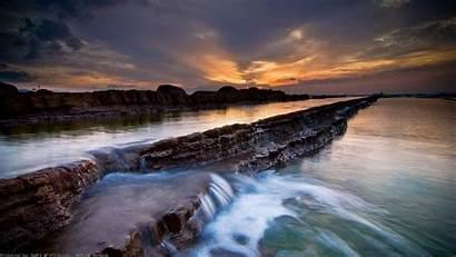 1080p Beach Sunset Wallpapers Desktop Backgrounds Pc