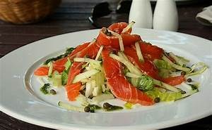 Salat Mit Geräuchertem Lachs : gr ner salat mit lachs rezept mit bild von tranquille ~ Orissabook.com Haus und Dekorationen