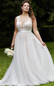 best dress shape for plus size pluslookeu collection With wedding dress for apple shaped plus size