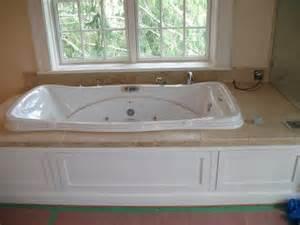 Tile around Whirlpool Tub Bathroom Ideas