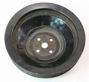 Water Pump Fan Pulley Mercedes Diesel Om617 300d 300cd
