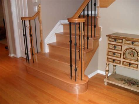 refinishing hardwood stairs monk 39 31 best images about best flooring for stairs on