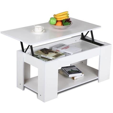 A coffee table may take up space in your living room or in any room where you choose to put. Lift up Top Coffee Table with Under Storage Shelf Modern ...