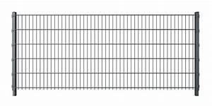 Doppelstabmattenzaun Anthrazit 8 6 8 : doppelstabmattenzaun komplettset anthrazit doppelstabmattenz une gabionen und tore vom ~ Buech-reservation.com Haus und Dekorationen