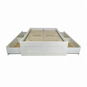Ikea Tagesbett Brimnes : 49 off ikea ikea brimnes full bed frame beds ~ Watch28wear.com Haus und Dekorationen