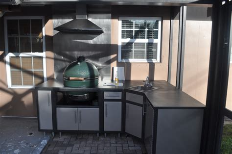 New Stainless Tablecabinet From Bge Big Green Egg