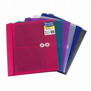 amazoncom c line reusable poly envelope with string With poly string envelopes letter size