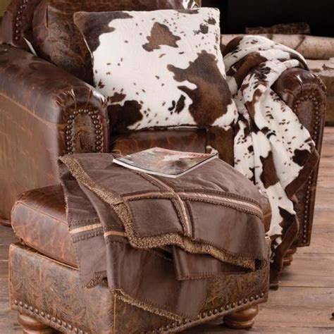 Cowhide Blanket - 17 best images about furniture couture cow on