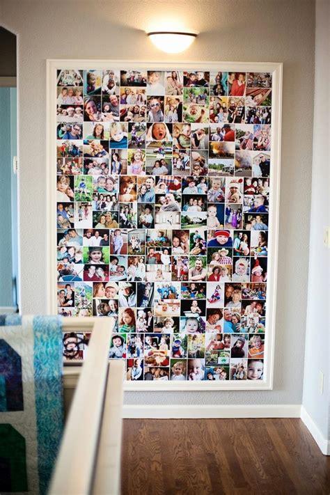Bilderrahmen Gestalten Ideen by Fotowand Gestalten Ohne Bilderrahmen Beispiele F 252 R Bilder