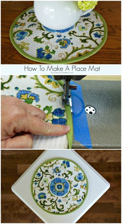 how to mat a print how to make a place mat newton custom interiors