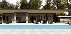 architecture bois contemporaine pour maison en bois With maison bois avec piscine