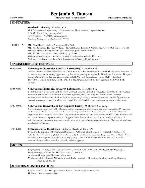 Handyman Resume Pdf by Handyman Resume Sle Free Sles Exles Format Resume Curruculum Vitae Free
