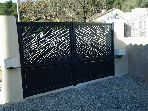 portail design moderne cobtsa