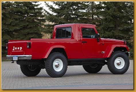 new jeep concept truck new jeep truck concepts j 12 and mighty fc jeep
