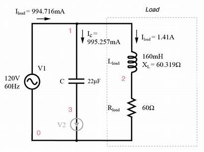 Power Factor Parallel Load Capacitor Inductive Lagging