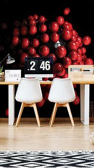 3D Red Balls(2506WM) – Tapeedikodu.ee