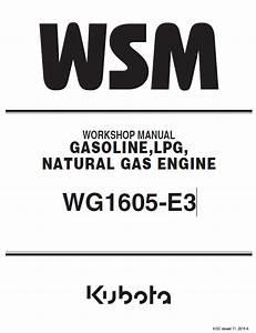 Kubota Wg1605
