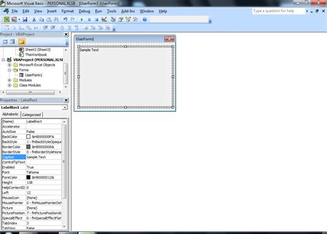 vba tips tricks how to dynamically change userform s