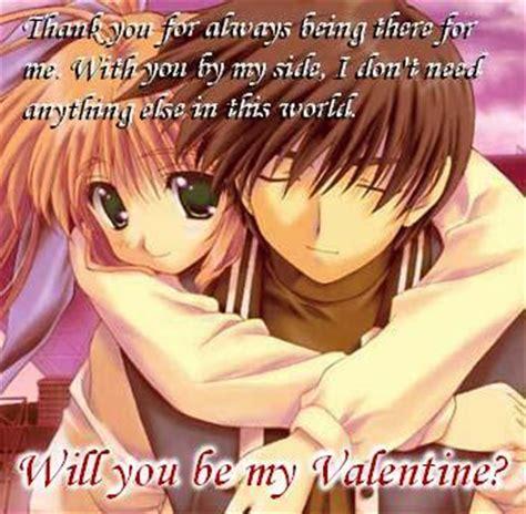 anime couples valentine s day anime valentine card anime happy valentine love gallery