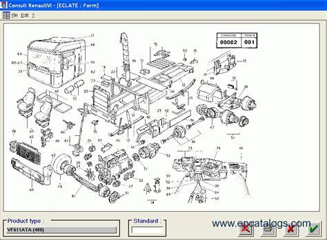 renault consult  spare parts catalog
