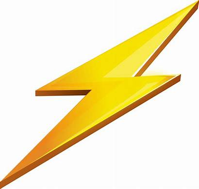 Lightning Bolt Transparent Zap Thunder Lightening Icon