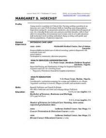 personal profile for nursing resume the resume professional profile exles recentresumes