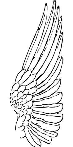 22 Best angel wings drawing images   Wings drawing, Angel