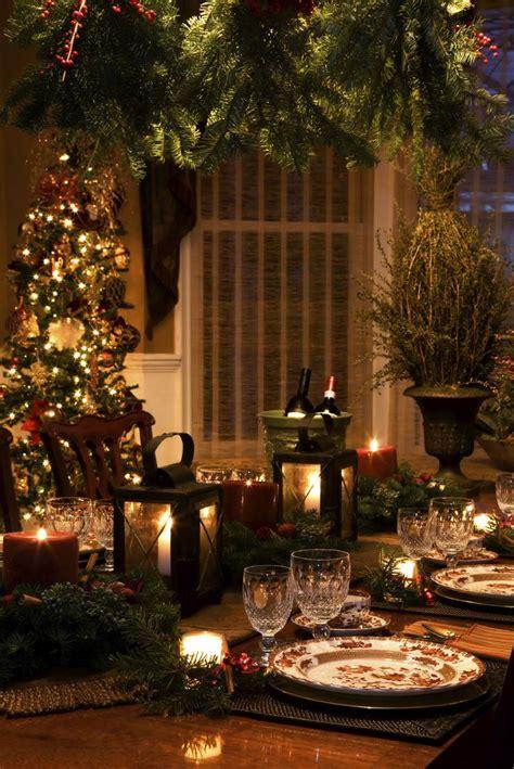 christmas dinner tables ideas  pinterest xmas