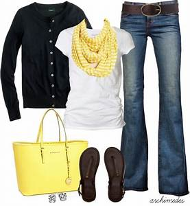 Cute Outfit Ideas of the Week Featuring the Color Yellow