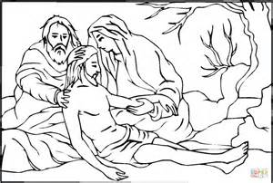 Printable Stations of the Cross Coloring Pages