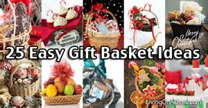 25 easy inexpensive and gift basket ideas recipes