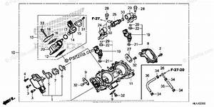 Honda Side By Side 2018 Oem Parts Diagram For Throttle