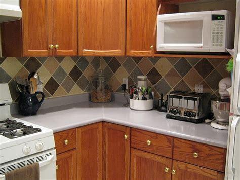 kitchen backsplash on a budget tile looking backsplash on a budget kitchen ideas