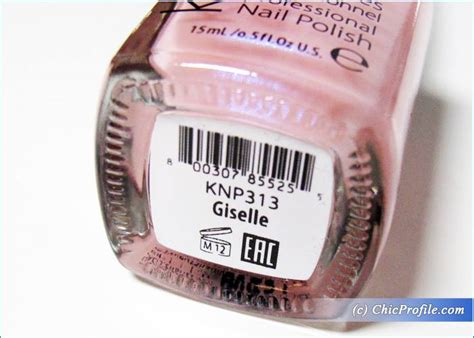 Kinetics Giselle Solar Gel Nail Polish Review, Swatches