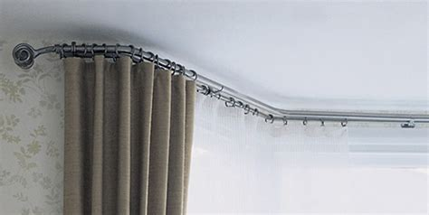 bendable curtain track for bay window help looking for bay window pole curtains bendable
