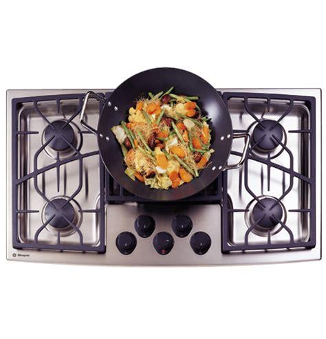 ge monogram  stainless steel gas cooktop liquid propane zgulsdss ge appliances
