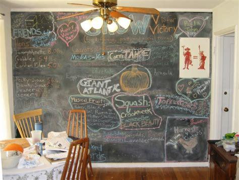 tableau craie cuisine 68 idées créatives avec l 39 ardoise murale archzine fr