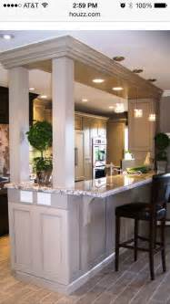 bar ideas for kitchen 57 best images about load bearing wall replacement ideas on kitchen gallery built