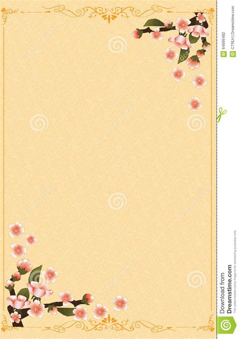 chinese japanese  year background stock vector