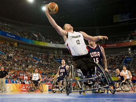 Canadian men take on Team USA in wheelchair basketball at ...