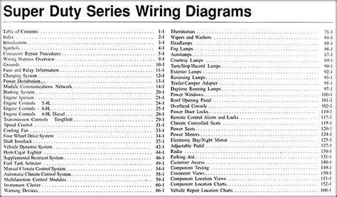 2015 Ford Duty Wiring Diagram by 2005 Ford F 250 Thru 550 Duty Wiring Diagram Manual
