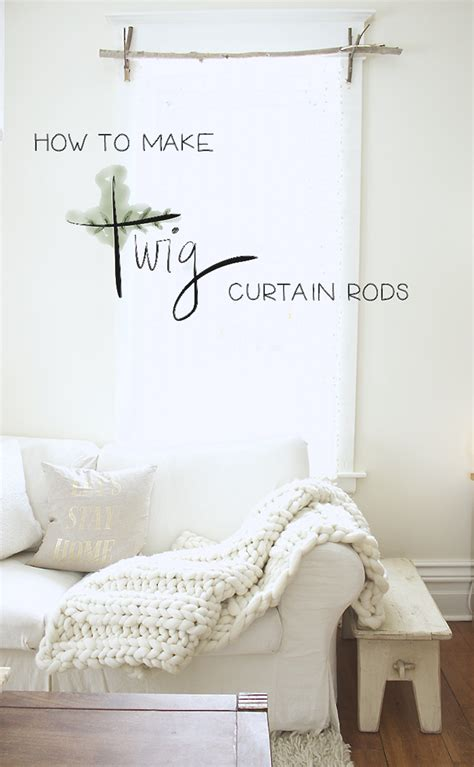 make your own curtain rods design the you want to live