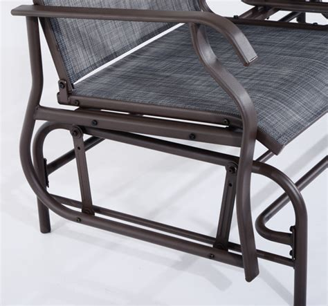 outsunny 2 seater rocker rocking chair lounger