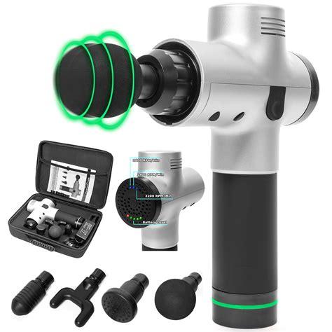 XtremepowerUS Handheld Massage Gun Cordless Deep Massager