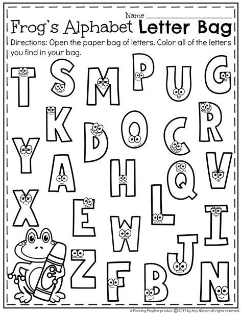 letter recognition worksheets letter recognition worksheets planning playtime 23056