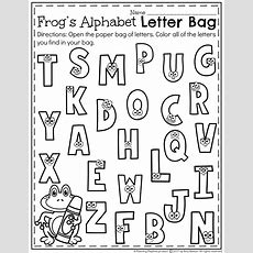 Letter Recognition Worksheets  Planning Playtime