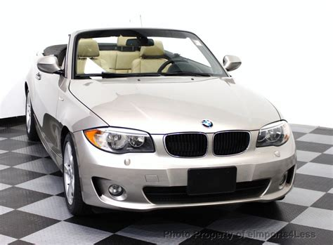 2013 Used Bmw 1 Series Certified 128i Convertible At