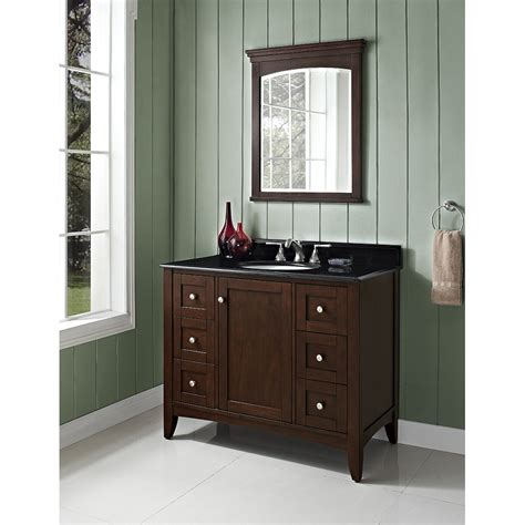 fairmont bathroom vanities fairmont designs shaker americana 42 quot vanity habana