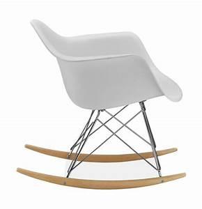 Chaise Scandinave A Bascule : chaise bascule rar style eames secret design ~ Teatrodelosmanantiales.com Idées de Décoration