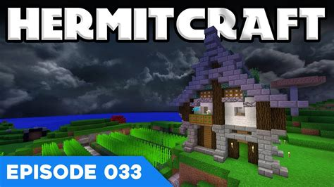 Hermitcraft V 033  My First House!  A Minecraft Let's